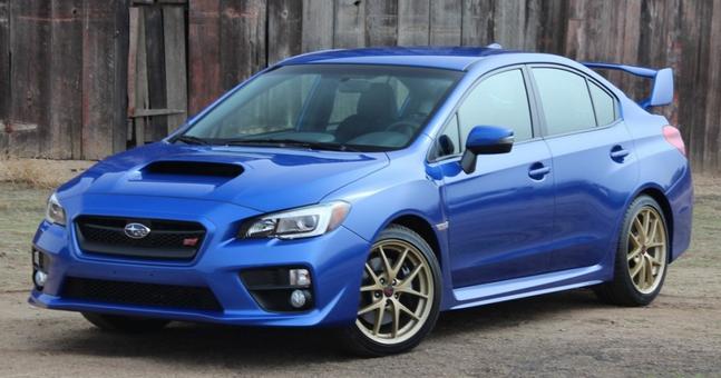 Nové Subaru WRX STI 2015