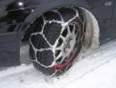 Jak nasadit sněhové řetězy?