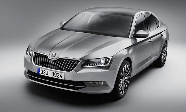Nová Škoda Superb 2015