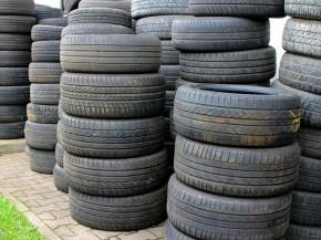 Skladování pneu
